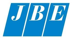 JBE logo light blue